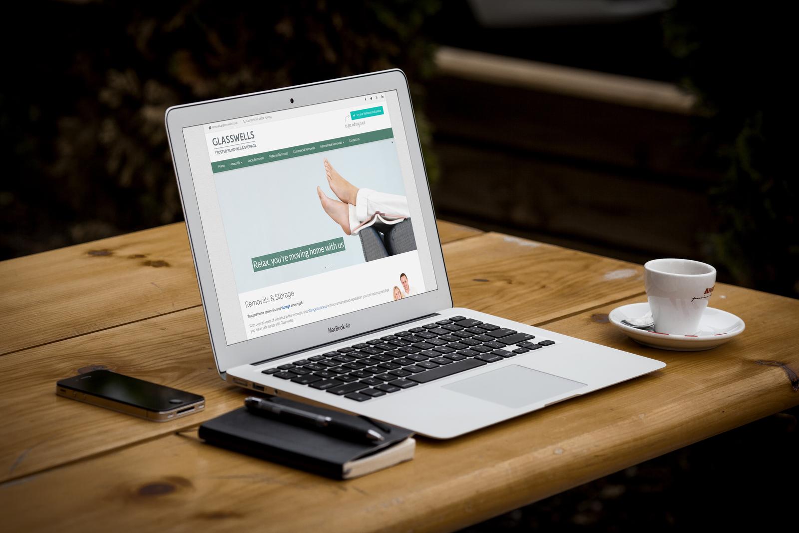 glasswells removals website