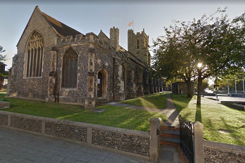 St Marys Church Haverhill, Suffolk